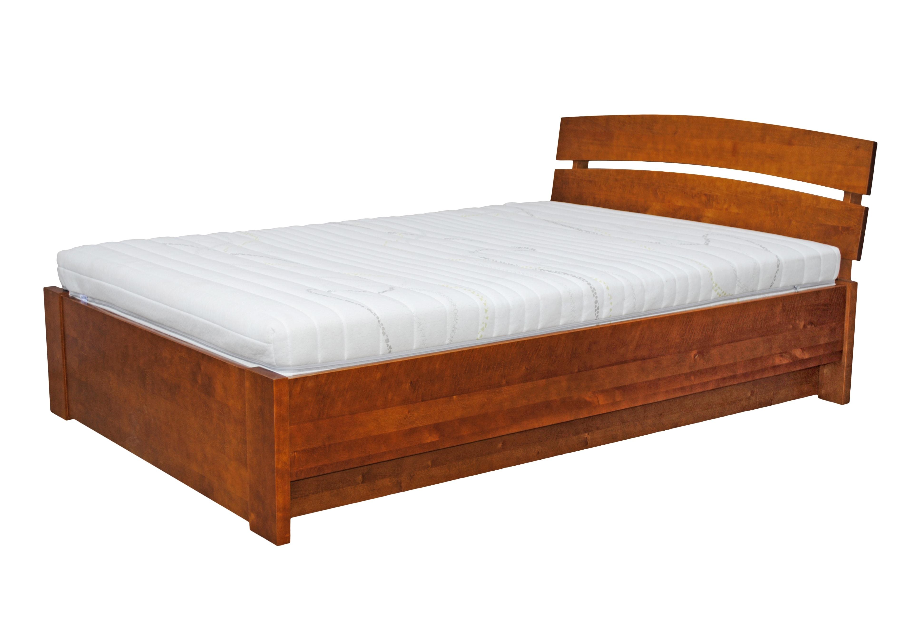 łóżko Olchowe Klara 2 Z Pojemnikiem